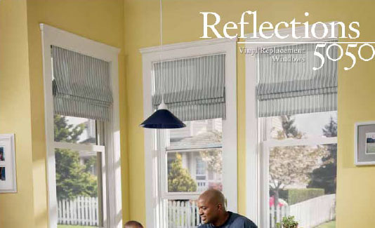 Simonton Windows Reflections 5050 Series Brochure